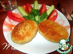 Готовим Рыбные зразы с луком и яйцом вкусный рецепт с фото пошагово