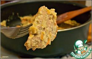 Рецепт Свиная вырезка тушеная в сметане с грибами