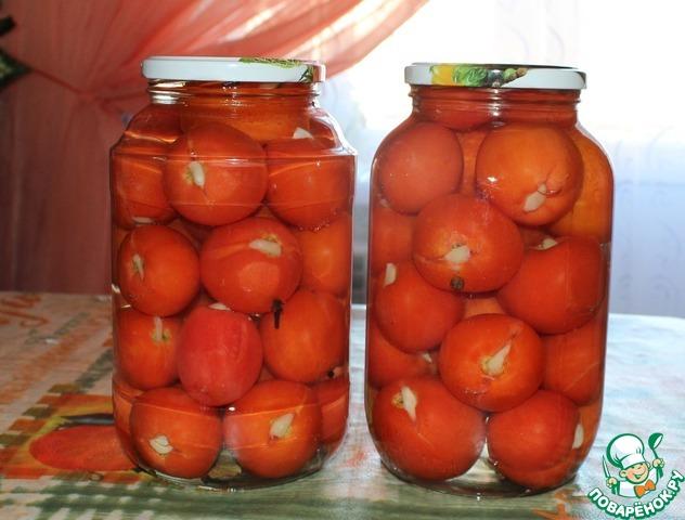 Пошаговый рецепт засолки помидор
