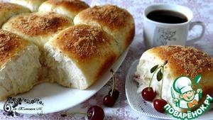 Рецепт Разборный пирог с вишней