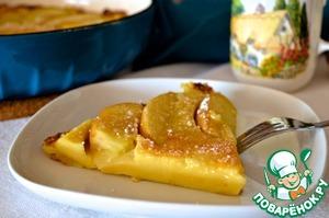 Рецепт Большой яблочный пэнкейк