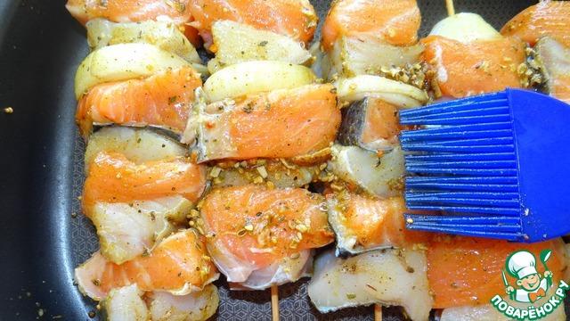 суп из двух видов рыб рецепт