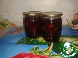 Рецепт Сливово-грушевое варенье