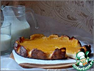 Рецепт Пшено-творожная запеканка с мандаринами