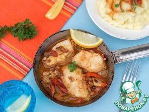 Рецепт Рыба в овощном маринаде