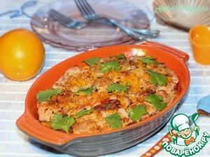 Рецепт Свинина с репой и апельсином