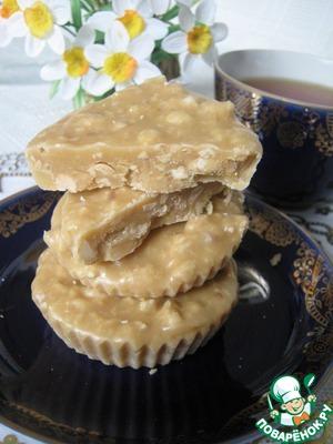 Рецепт Сливочная помадка с орехами в мультиварке