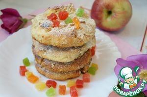 Рецепт Запеченые сырники с овсянкой и цукатами