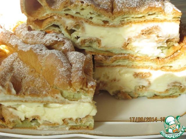 Торт карпатка рецепт с пошагово в домашних
