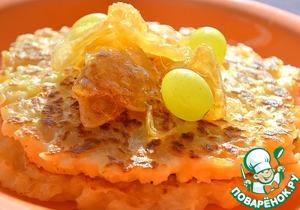 Готовим Рисовые блинчики с карамелизированными яблоками домашний пошаговый рецепт приготовления с фотографиями