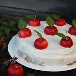 Пряный яблочный пирог с медом