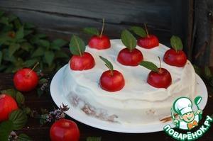 Рецепт Пряный яблочный пирог с медом