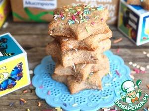 Рецепт Бананово-злаковое печенье