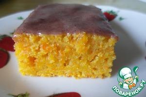 """Рецепт Морковный кекс """"Оранжевое настроение"""""""