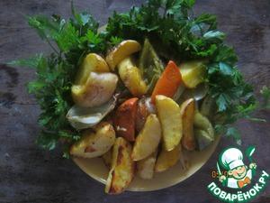 Рецепт Овощи по-домашнему