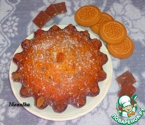"""Рецепт Кекс """"Супер витаминный"""" с кусочками шоколада"""