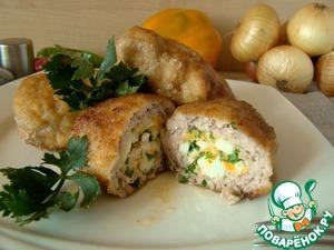 Рецепт Зразы из свинины