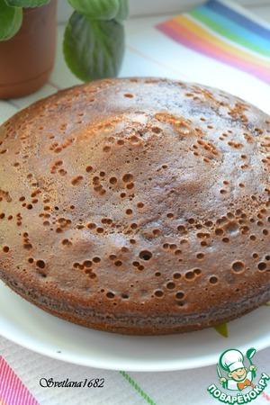 Рецепт: Медовый кекс в мультиварке