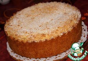 Рецепт Царский яблочный пирог