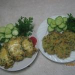 Рисовые оладьи (котлетки)