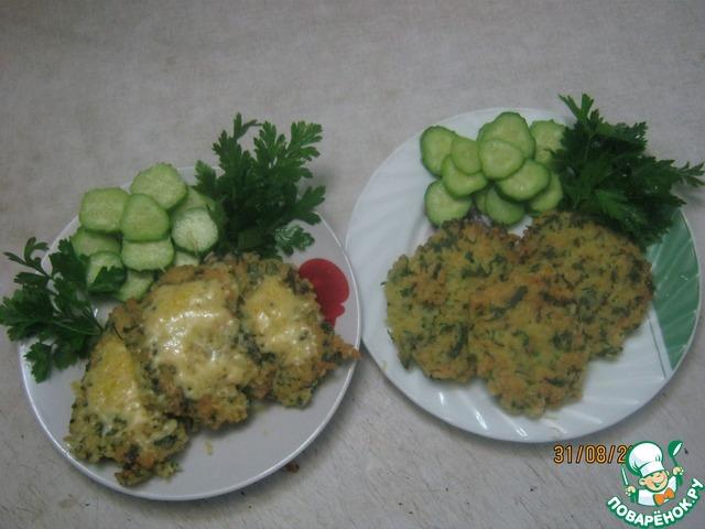 Рисовые котлеты с сыром пошаговый рецепт