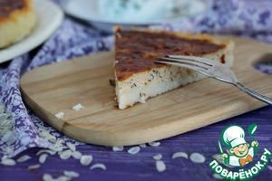 Рецепт Киш с тунцом и сыром на рисовой основе