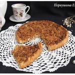 Пицца медово-ореховая с овсяными хлопьями