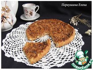 Рецепт Пицца медово-ореховая с овсяными хлопьями