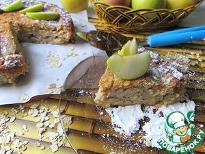 Рецепт Яблочный пирог с пряностями