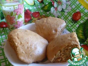 Рецепт Медовые булочки с орехами на пару