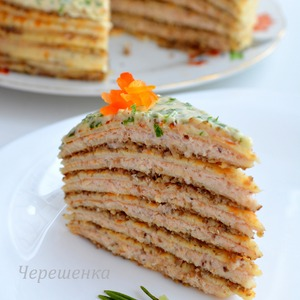 Фото: Блинный торт