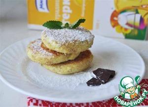 Рецепт Сырники с шоколадом и миндалём