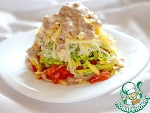 Рецепт Салат с авокадо и грушей под соусом