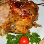 Курица в облепиховом маринаде