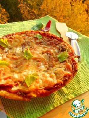 Рецепт Пицца с осенней грушей