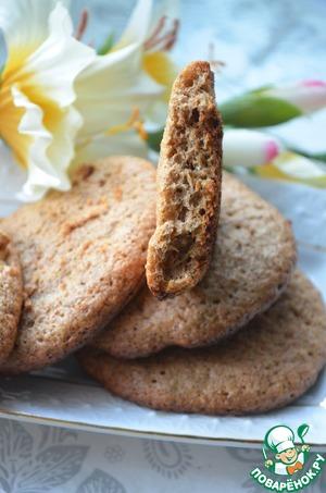 Рецепт Заварное печенье с овсяными отрубями