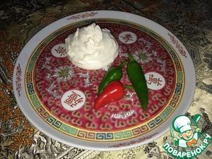 Рецепт Соус майонез на молоке для холодной кухни