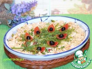 Рецепт Кабачки в йогурте с орешками