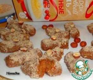 Рецепт Пшенно-шоколадные батончики к завтраку