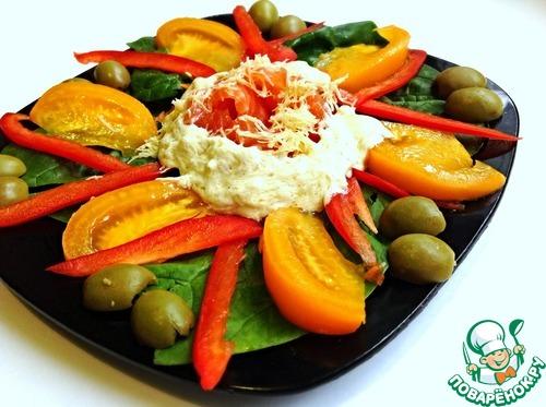 очень вкусный греческий салат пошаговый рецепт с фото