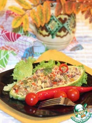 Рецепт Кабачки по-мароккански