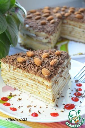 """Рецепт: Торт """"Нежность"""""""