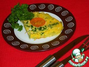 Рецепт Фриттата с кабачками