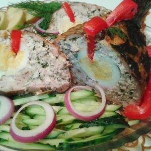 Рецепт Сазан, запеченный в духовке
