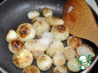 Жареный картофель с карамелизированным луком ингредиенты