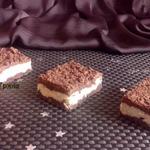 Шоколадный пирог с творогом