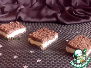 Рецепт Шоколадный пирог с творогом