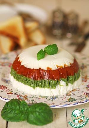 Рецепт Закусочный торт в итальянском стиле