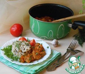 Рецепт Свинина в тыквенном соусе