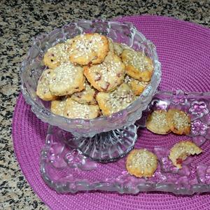 Рецепт приготовления с фотографиями Сырные крекеры